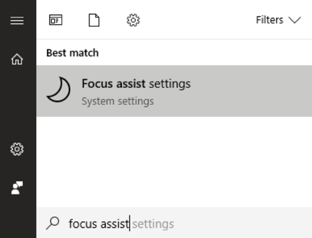 Utilisez Focus Assist pour controler les notifications dans Windows 10