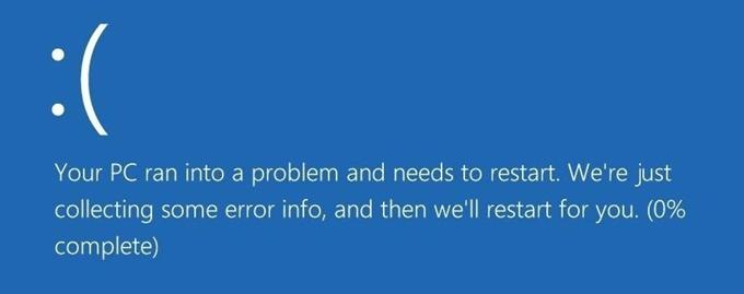 """Comment réparer l'erreur """"Votre PC a rencontré un problème et il doit redémarrer"""""""